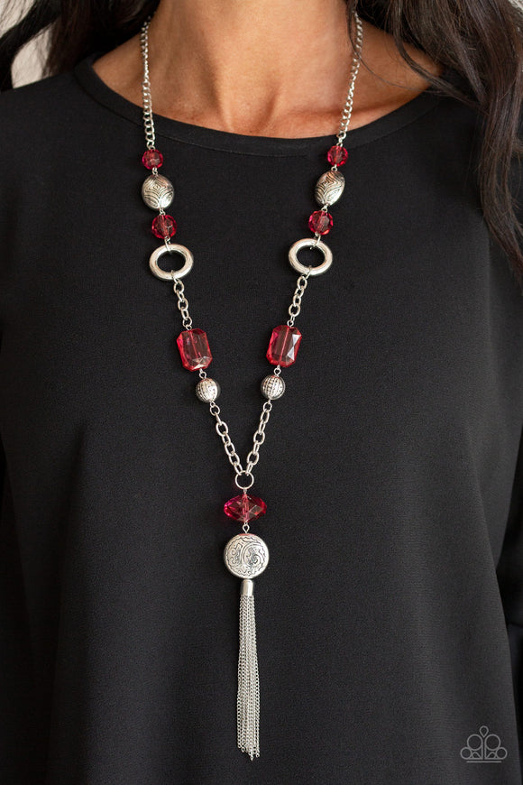 Ever Enchanting - Red necklace