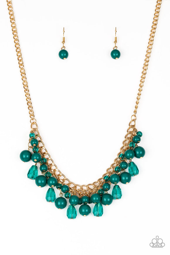 Tour de Trendsetter - Green necklace