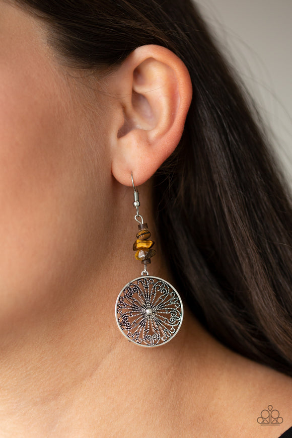 Adobe Dweller - Brown earrings