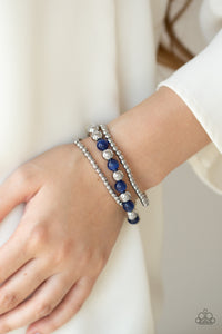Go With The GLOW - Blue bracelet