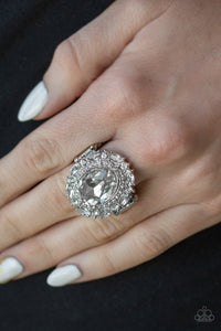 Show Glam - White ring
