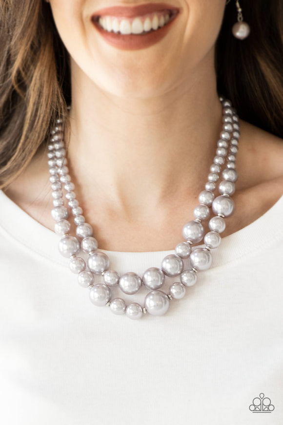 The More The Modest - Silver necklace set