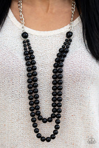 Endless Elegance - Black necklace