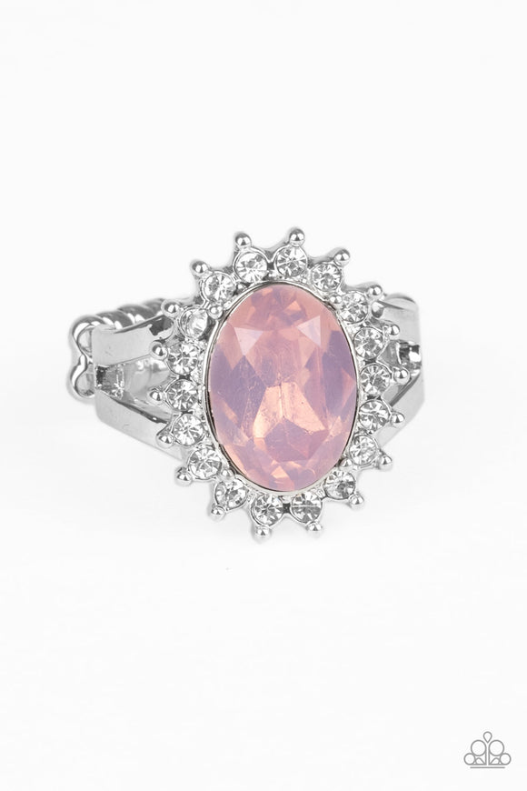 Iridescently Illuminated - Pink ring