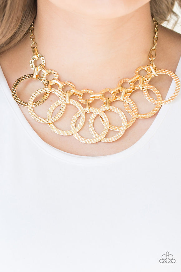 Jammin Jungle - Gold necklace set