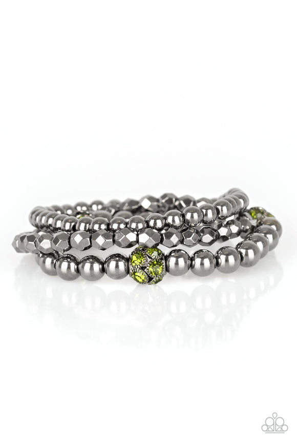 Noticeably Noir - Green bracelet