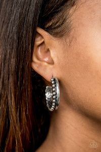 "Paparazzi Earrings - ""Rural Rio - Silver"""