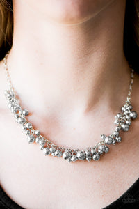 Belle Of The Ball - Silver necklace