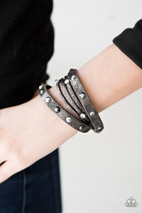 It Was The BEAST Of Times - Silver wrap bracelet