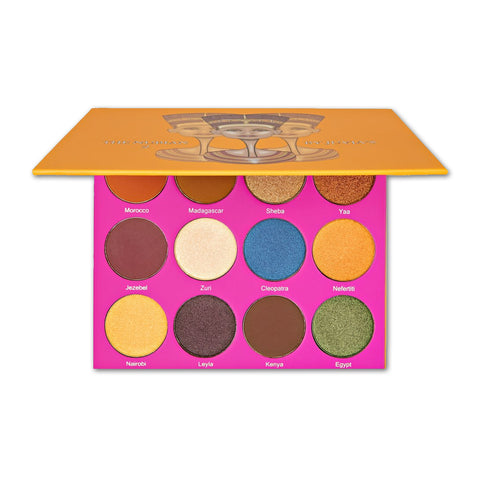 Juvia's place the nubian 2 palette oogschaduw palet