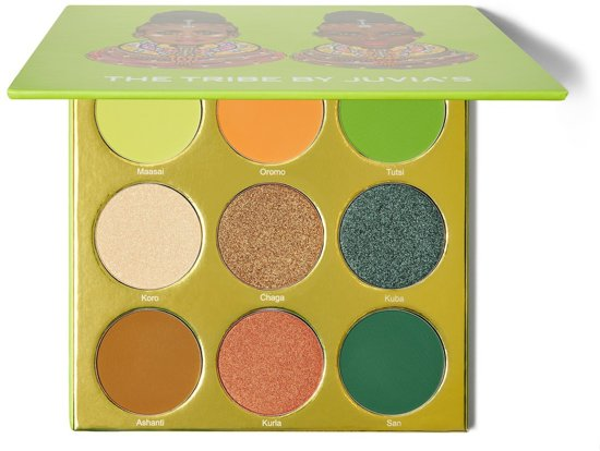 Juvia's place the tribe palette oogschaduw palet makeup