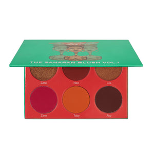 Juvia's place the sarahan blush palette blusher palet