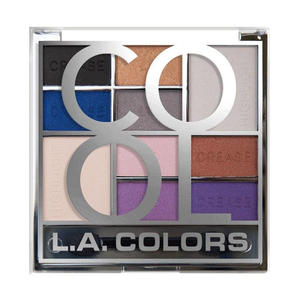 LA Colors - Color Block Eyeshadow Palette Cool