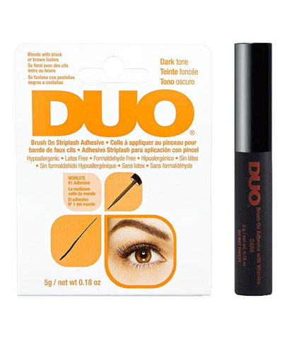 Duo Brush-on adhesive wimperlijm dark kopen