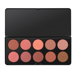 BH Cosmetics Blush palette makeup