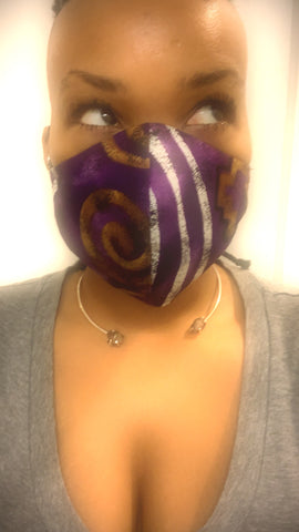 Purple Haze Washable Face Masks