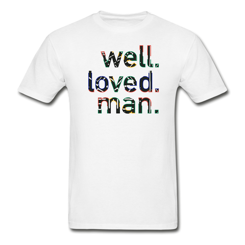 Well Loved Man T-shirt - white