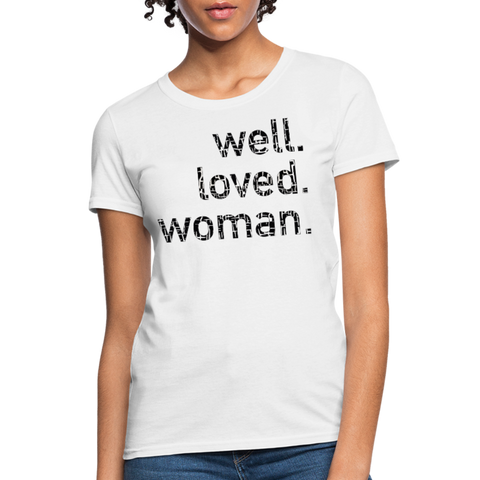 Build Women's T-Shirt - white