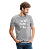 Well Loved Man Tri-Blend T-Shirt - heather gray