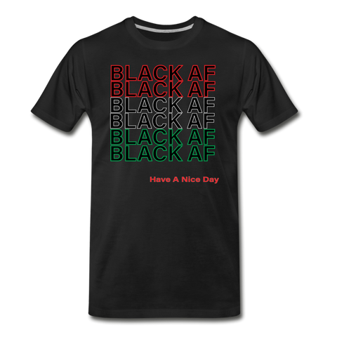 Black AF Men's Premium T-Shirt - black