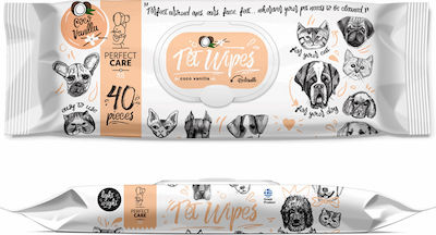Perfect Pet Wipes Coco Vanilla 40 sheets