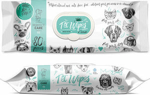 Perfect Pet Wipes Aloe Forte 80 sheets
