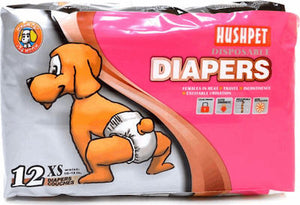 Hushpet Diapers 12pcs