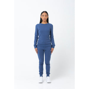 The Sweatshirt - Indigo - THE LABEL