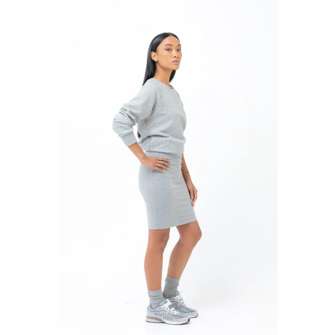 The Skirt - Grey - THE LABEL