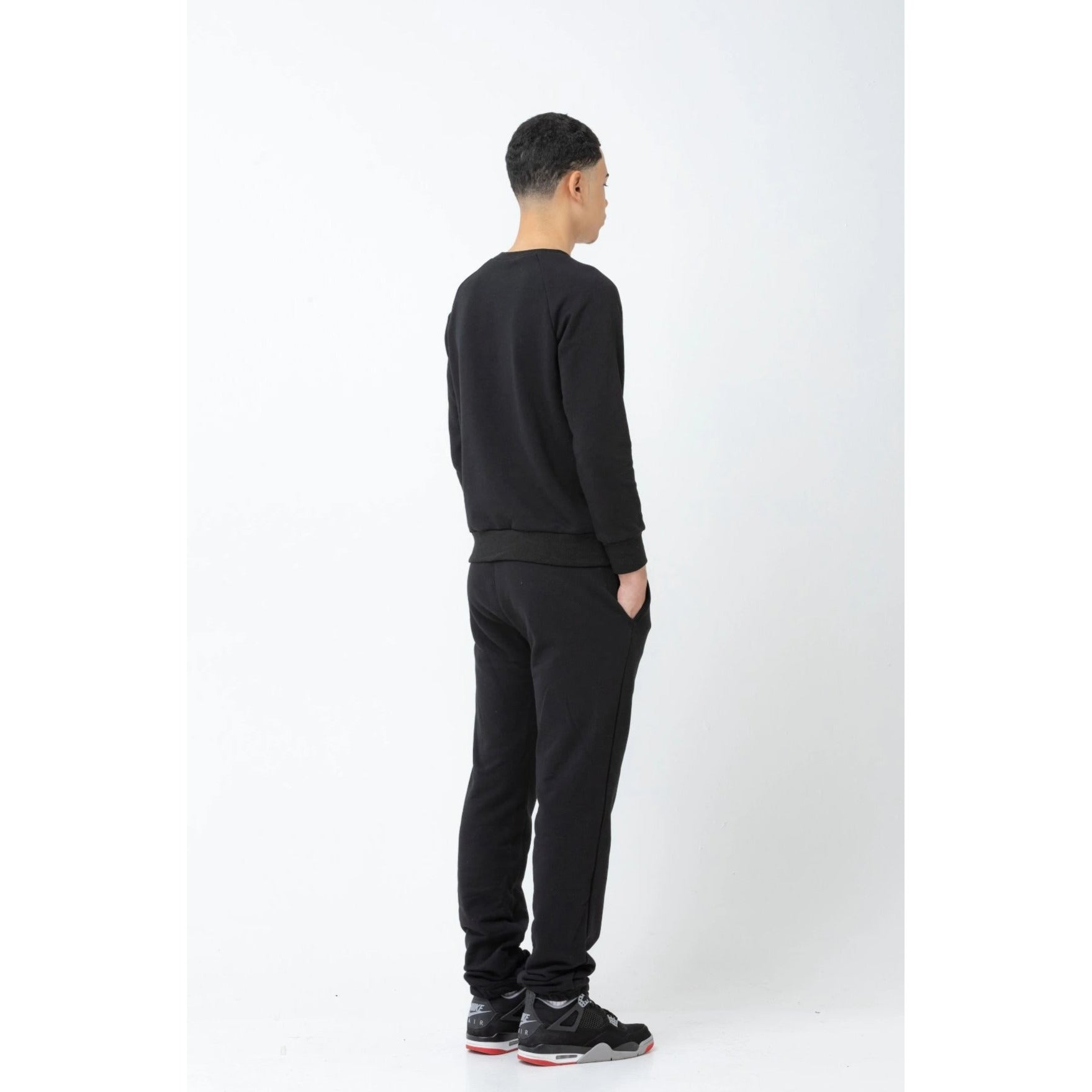 The Men's Sweatpant - Black - THE LABEL