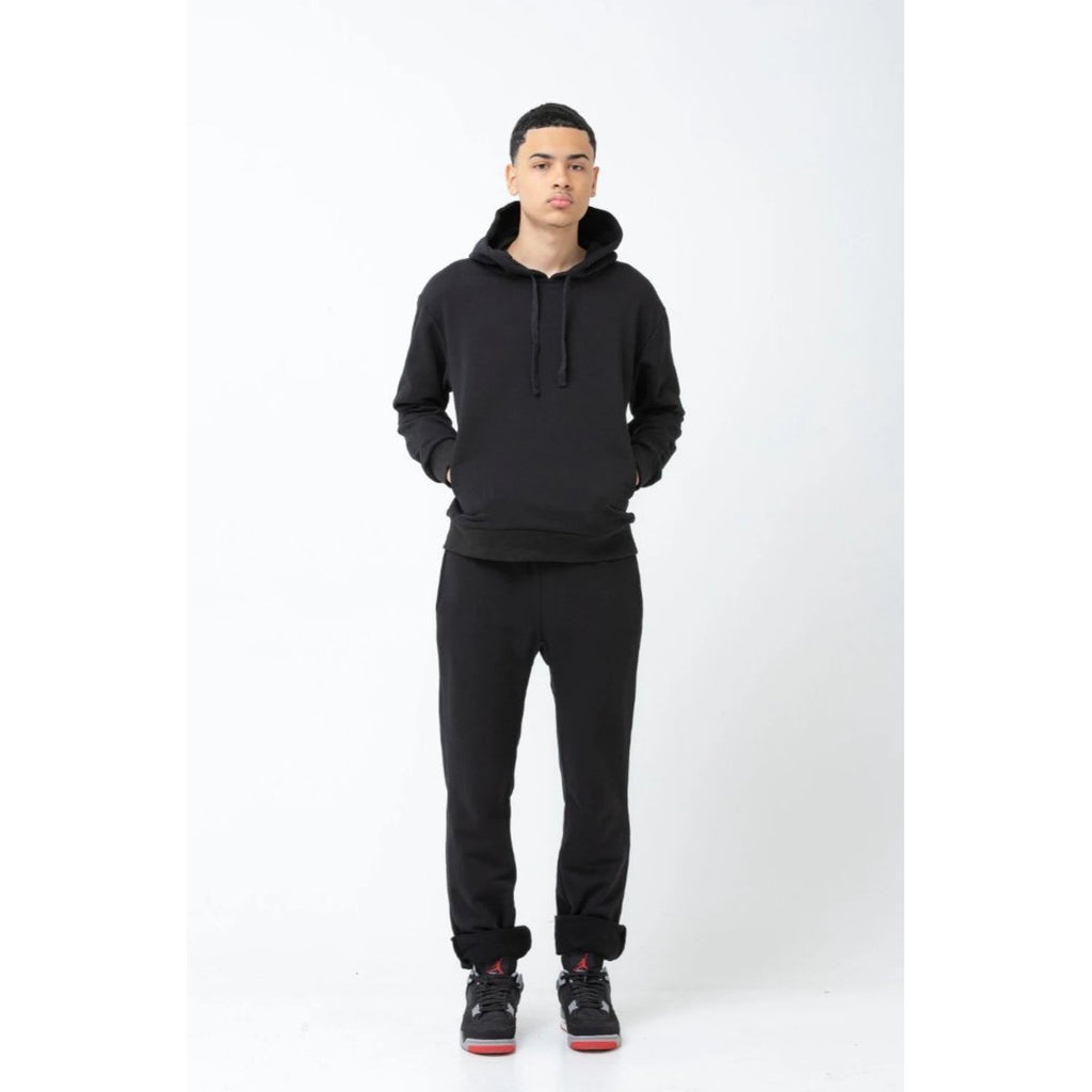 The Men's Hoodie - Black - THE LABEL
