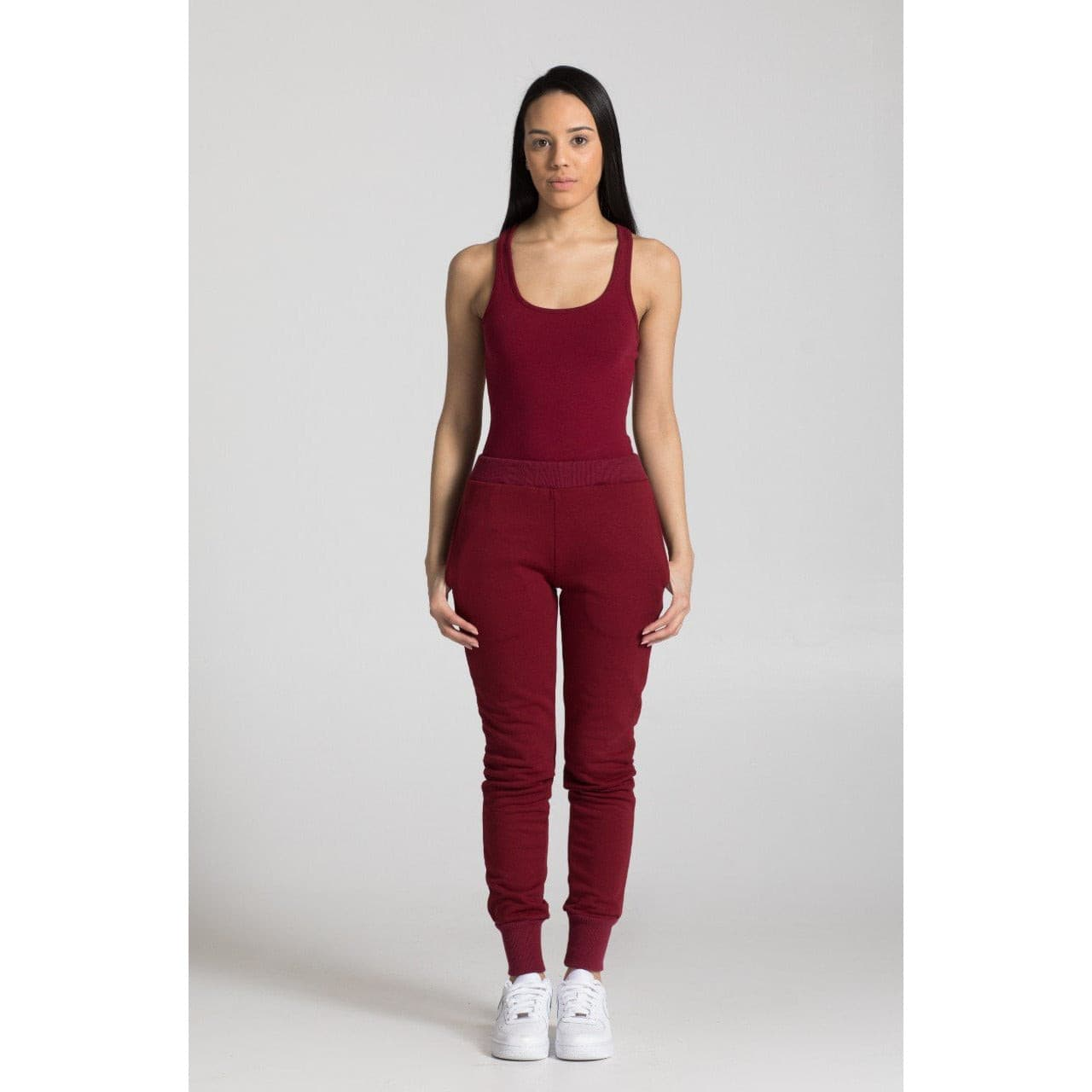The Jogger in Oxblood
