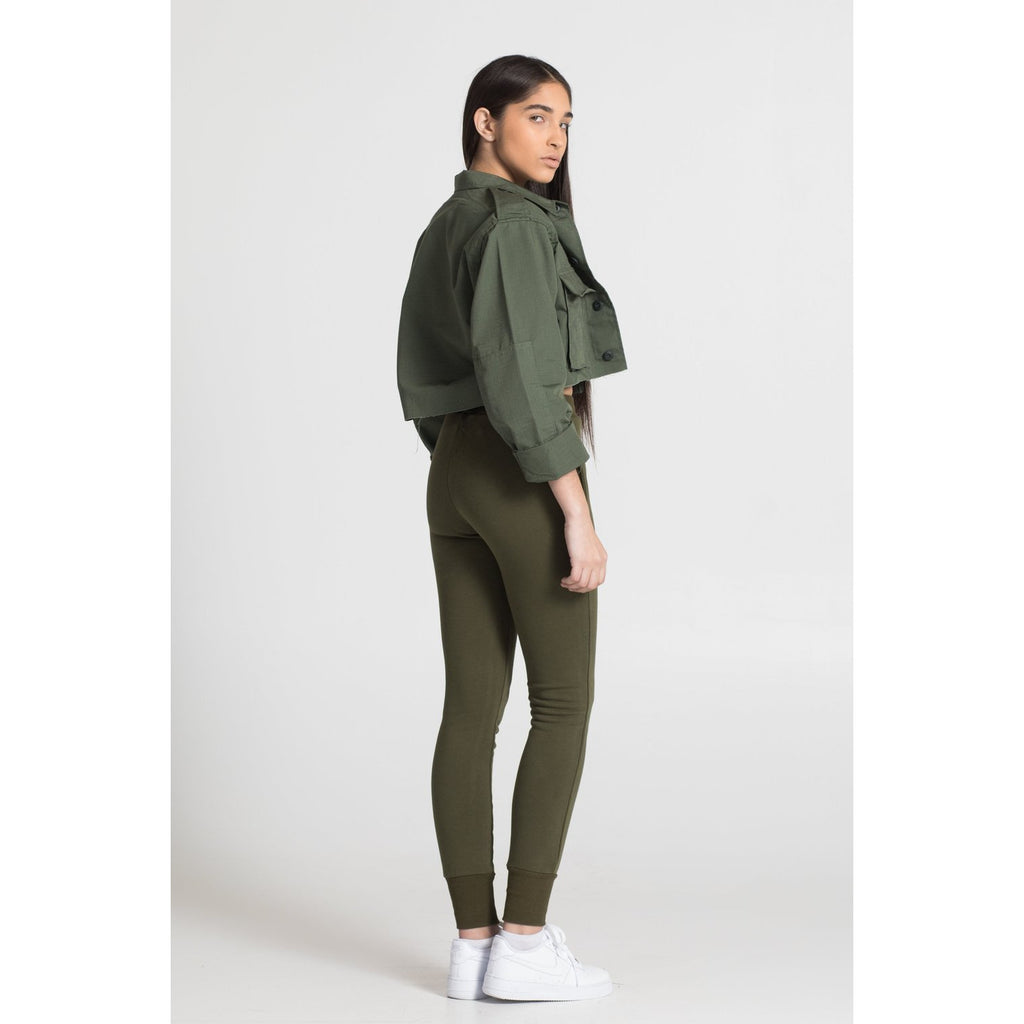 The Jogger in Olive
