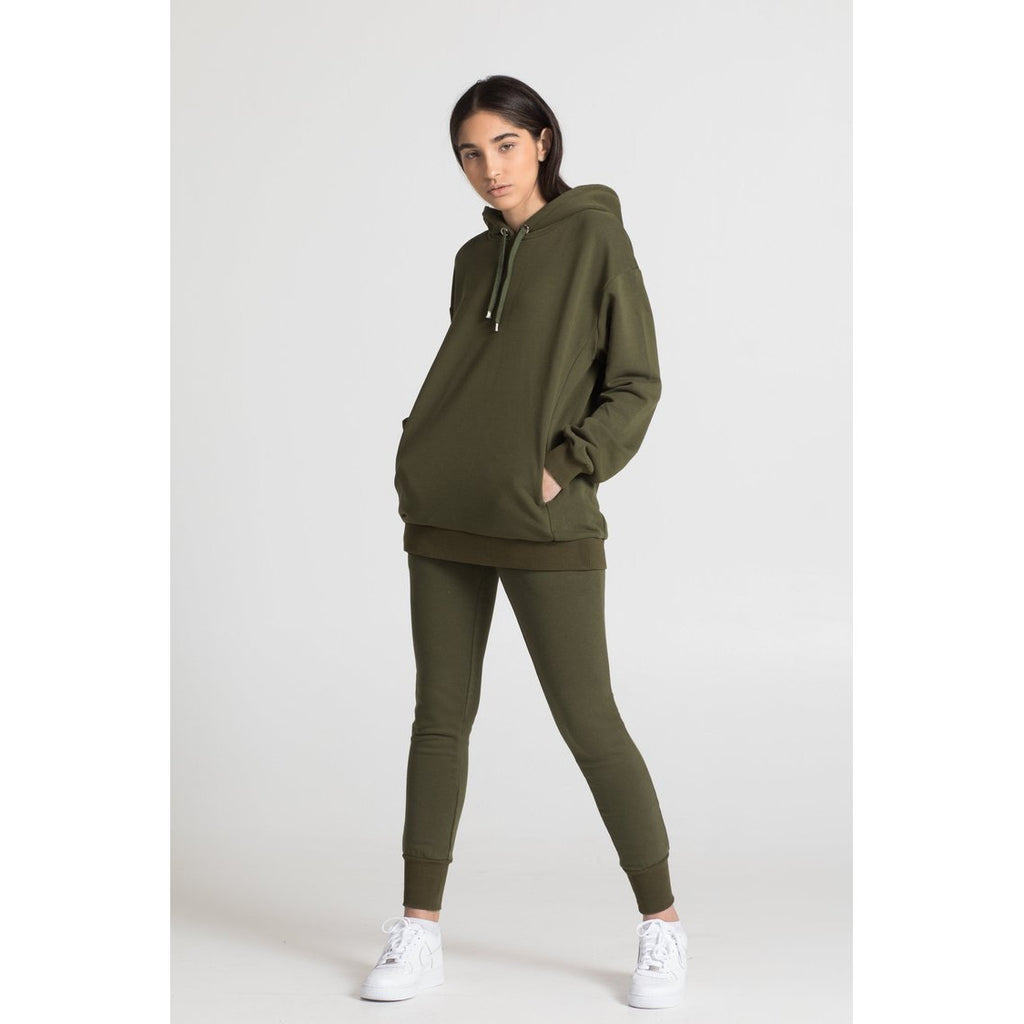 The Unisex Hoodie, Olive
