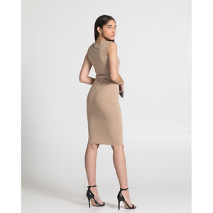 THE TANK DRESS, NUDE