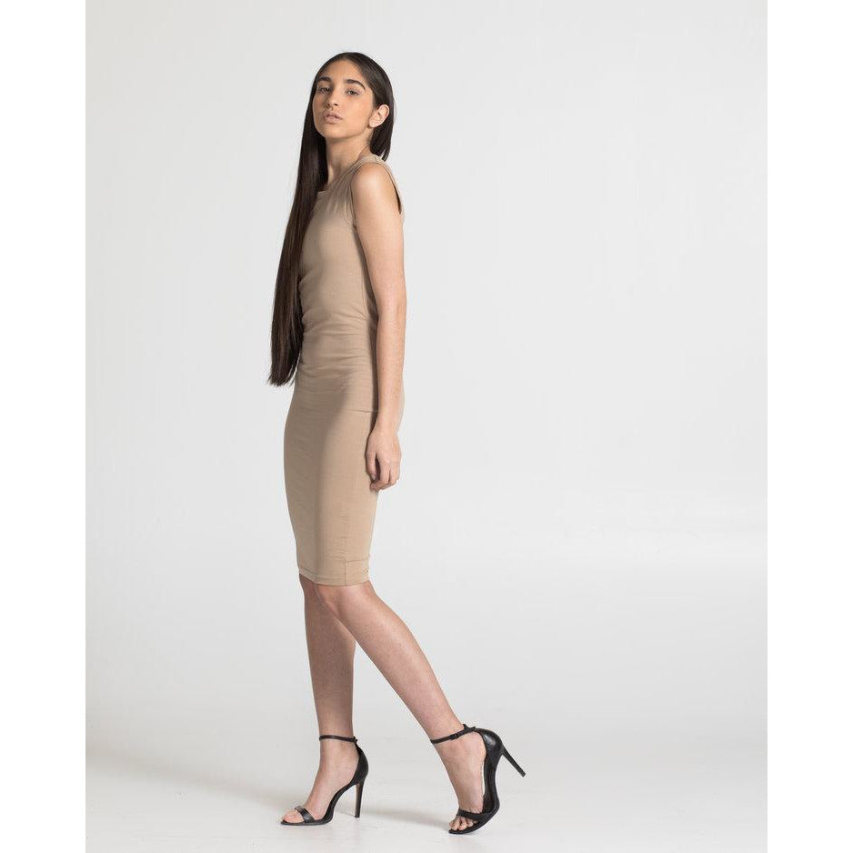 The Tank Dress - Nude - THE LABEL