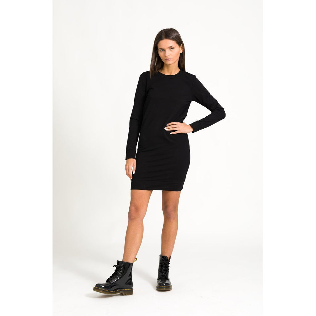 The Sweatshirt Dress in Black