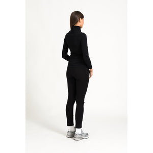 The Zip Top - Black - THE LABEL