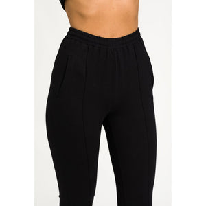 The Track Pant - Black - THE LABEL