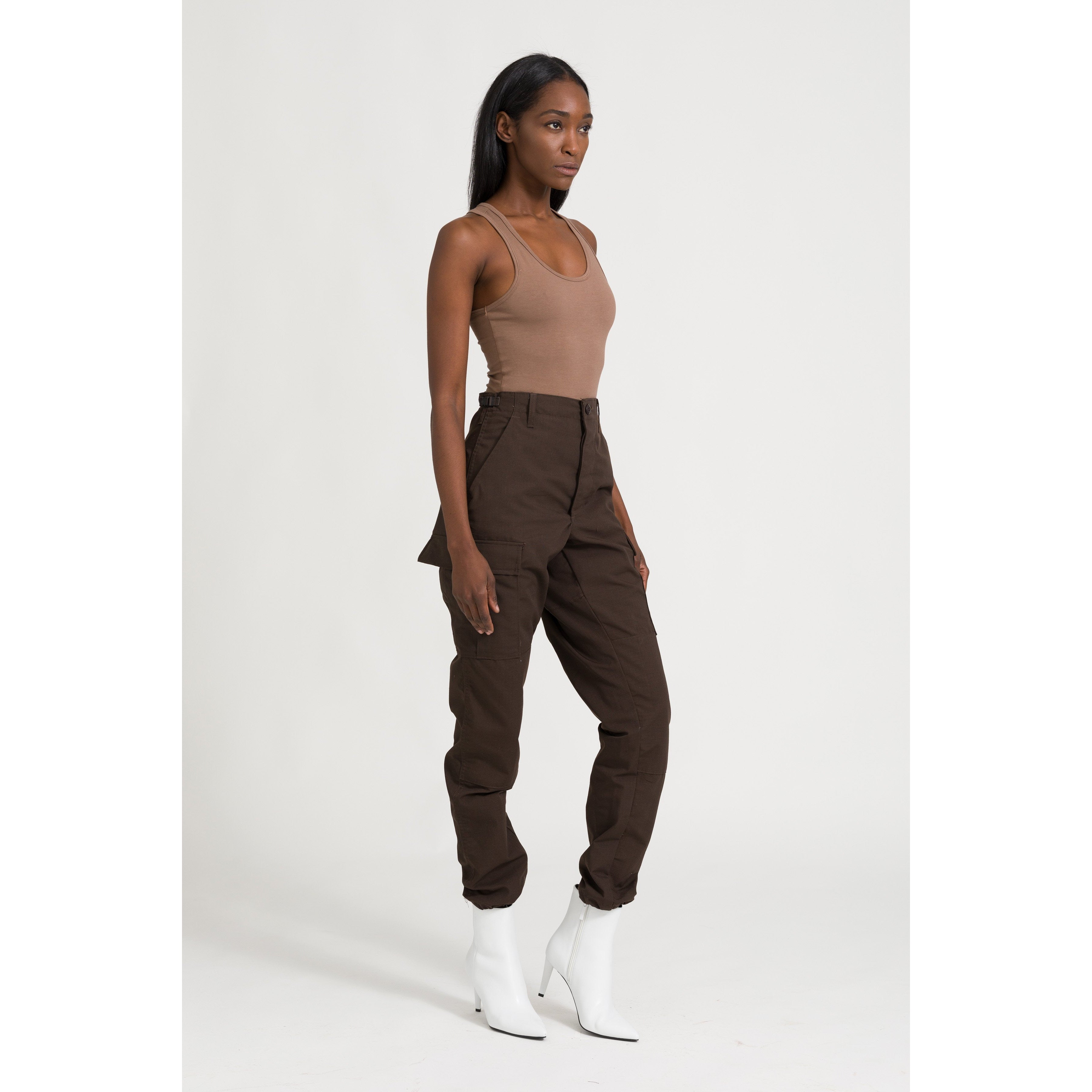 The Cargo Pant - Brown - THE LABEL