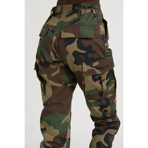 The Cargo Pant - Camouflage - THE LABEL