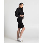 The Cropped Jacket - Black - THE LABEL
