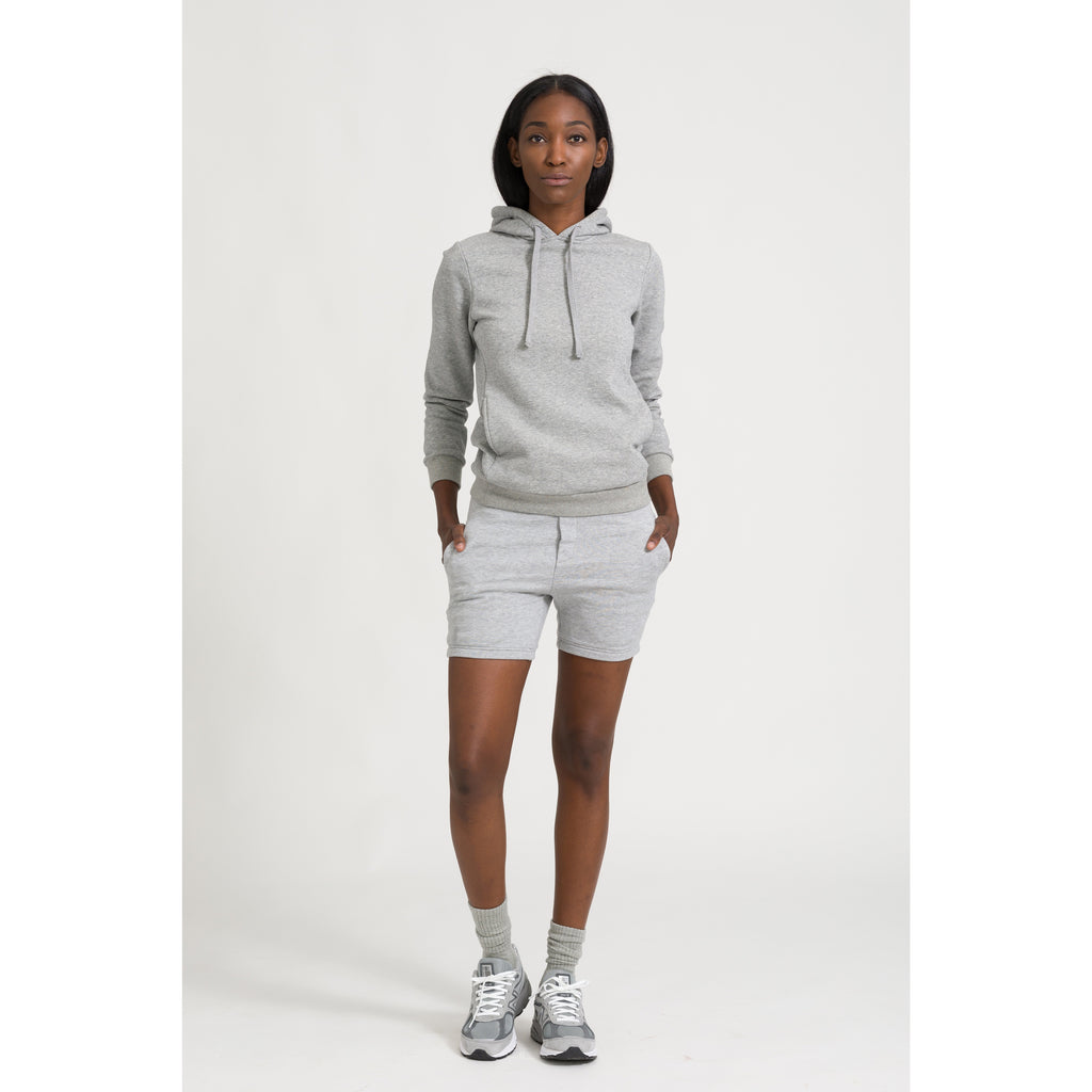 THE TERRY SHORTS, GREY - THE LABEL