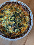 Potato-Crusted Chard Quiche
