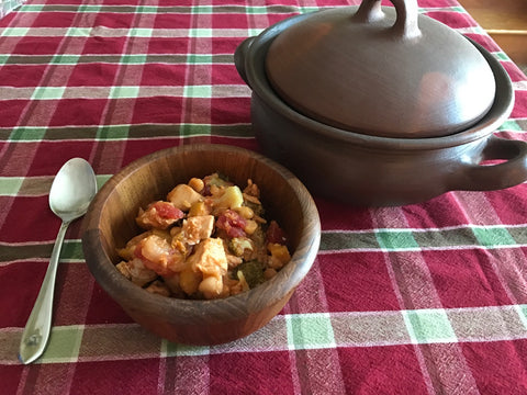 Moroccan Chicken and Chickpeas