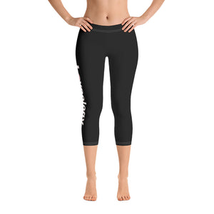 Capri Leggings/Black