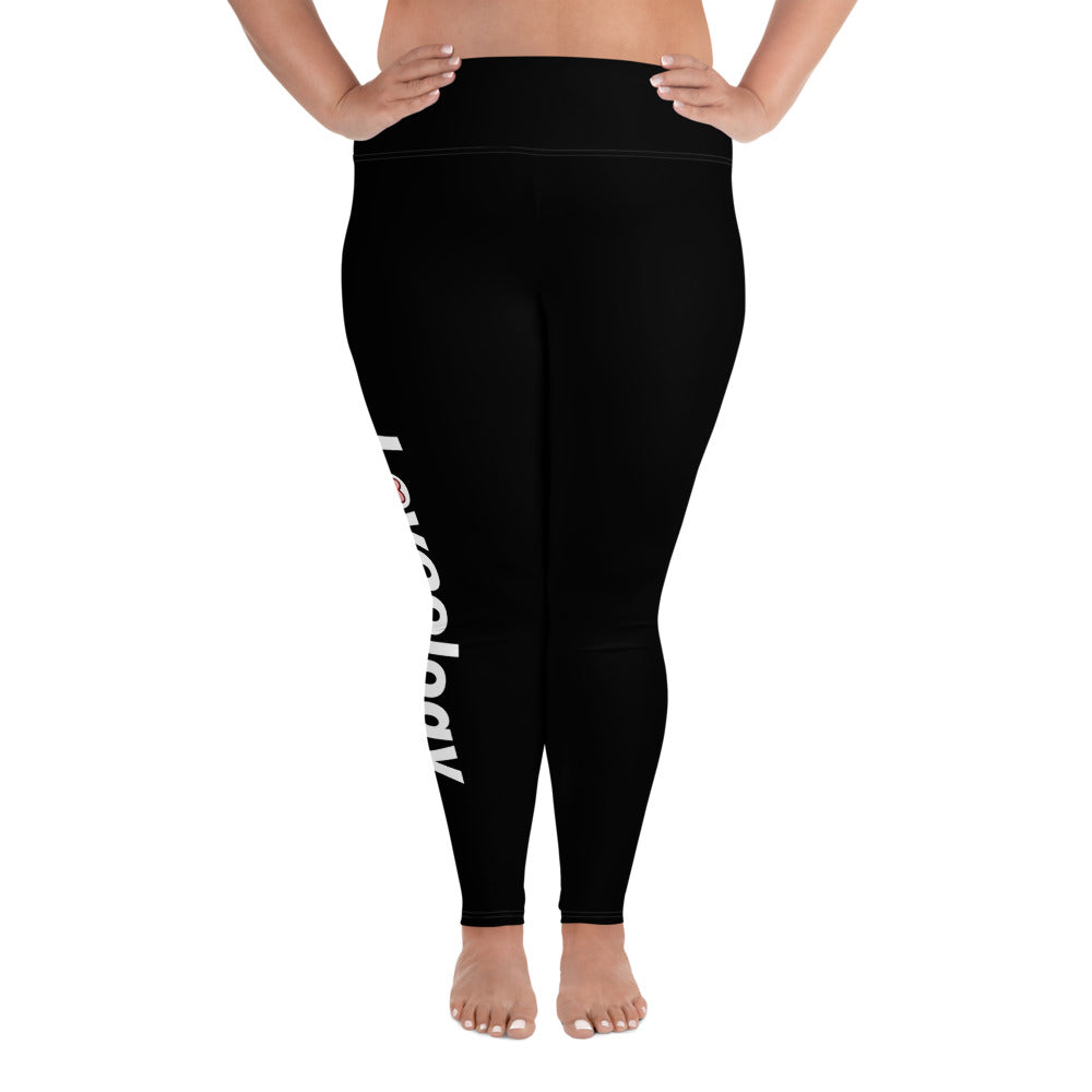 Plus Size Leggings/ Black