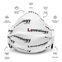 Load image into Gallery viewer, Premium Loveology Podcast Face mask