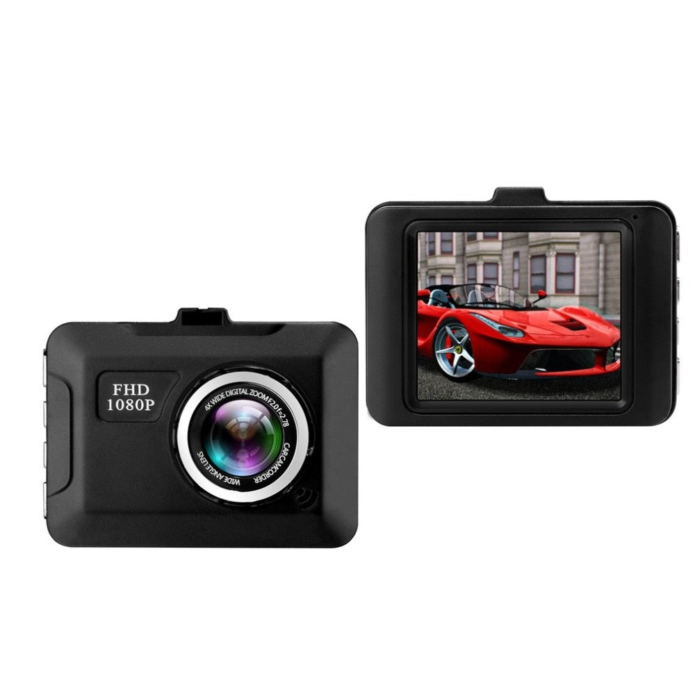 Night Vision Intensity Range Dash Cam