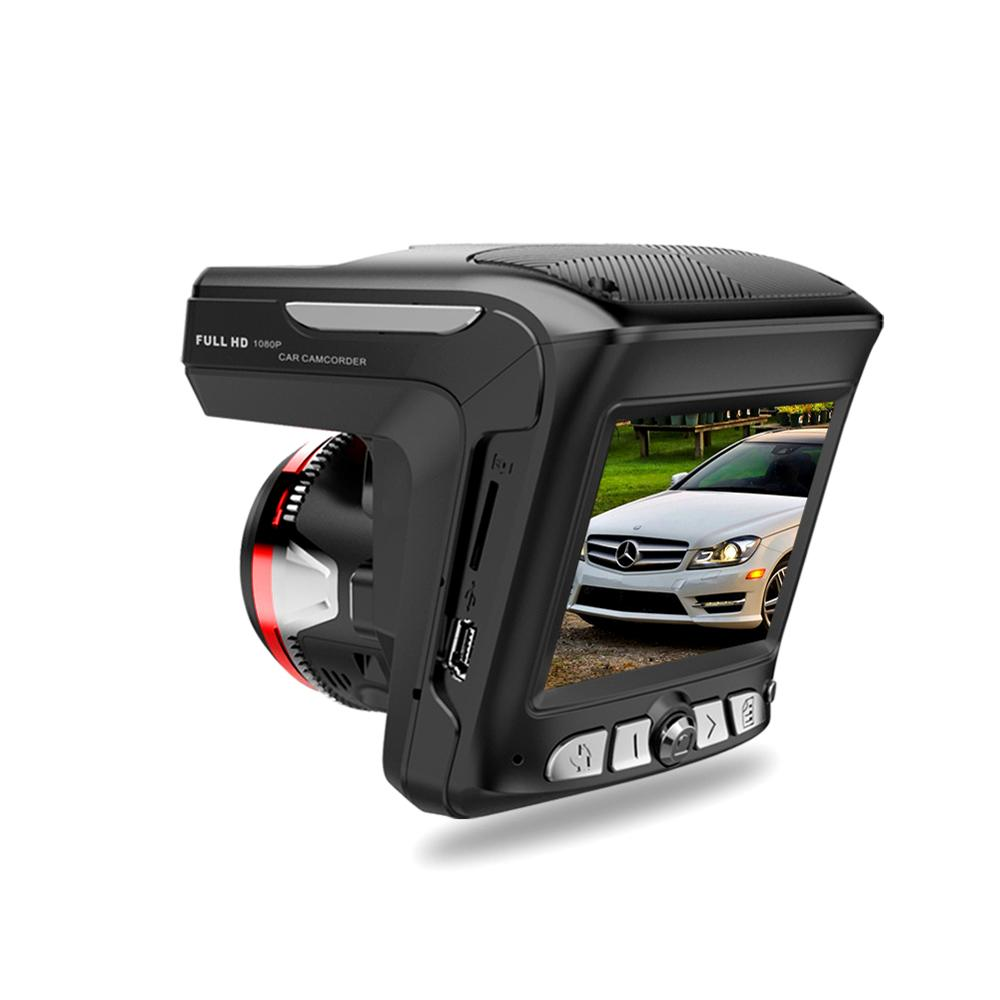 High Quality  2 in 1 HD 1080P Car DVR Camera Recorder, GPS Tracker Dash Cam